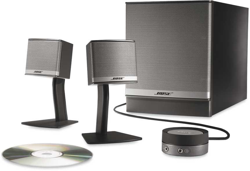 Bose U00ae Companion U00ae 3 Series Ii Multimedia Speaker System At