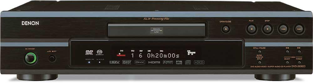 denon dvd 2930ci dvd cd sacd dvd audio player with 1080p video rh crutchfield com Denon Instruction Manual Denon Service Manuals