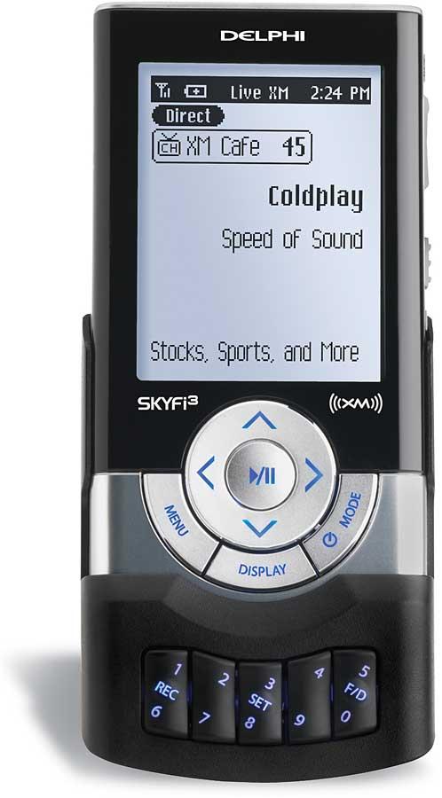 delphi skyfi3 plug and play xm satellite radio with car accessories rh crutchfield com Delphi SKYFi3 Boombox Delphi SKYFi3 Troubleshooting