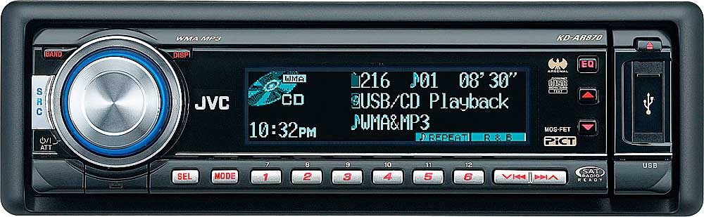 x105KDAR870 f_mt jvc arsenal kd ar870 cd receiver with mp3 wma playback at jvc kd g320 wiring diagram at bakdesigns.co