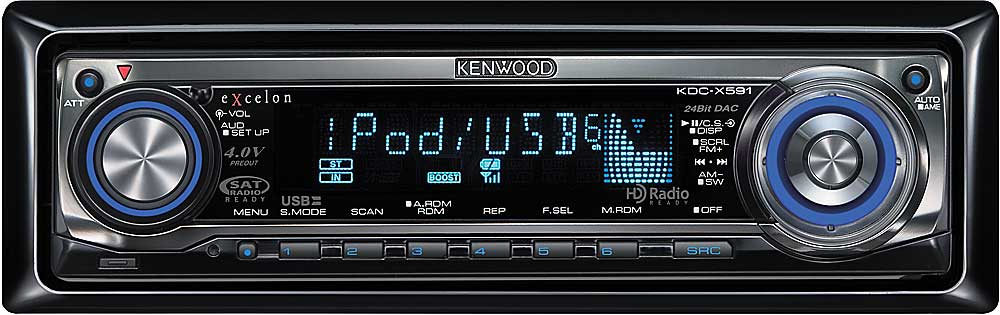 kenwood excelon kdc-x591 cd receiver with mp3/wma/aac playback at  crutchfield