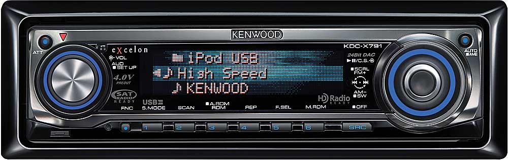Kenwood Excelon KDC X791 CD receiver at Crutchfield com: Wiring Diagram For Kenwood Kdc X791 at e-platina.org