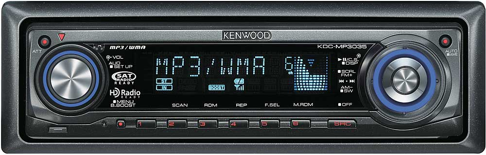 kenwood kdc mp3035 cd receiver with mp3 wma aac playback at rh crutchfield com Kenwood Home Stereo System Manuals Kenwood Instruction Manual
