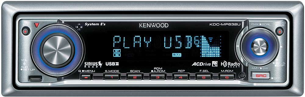 Kenwood Kdc mp632u manual