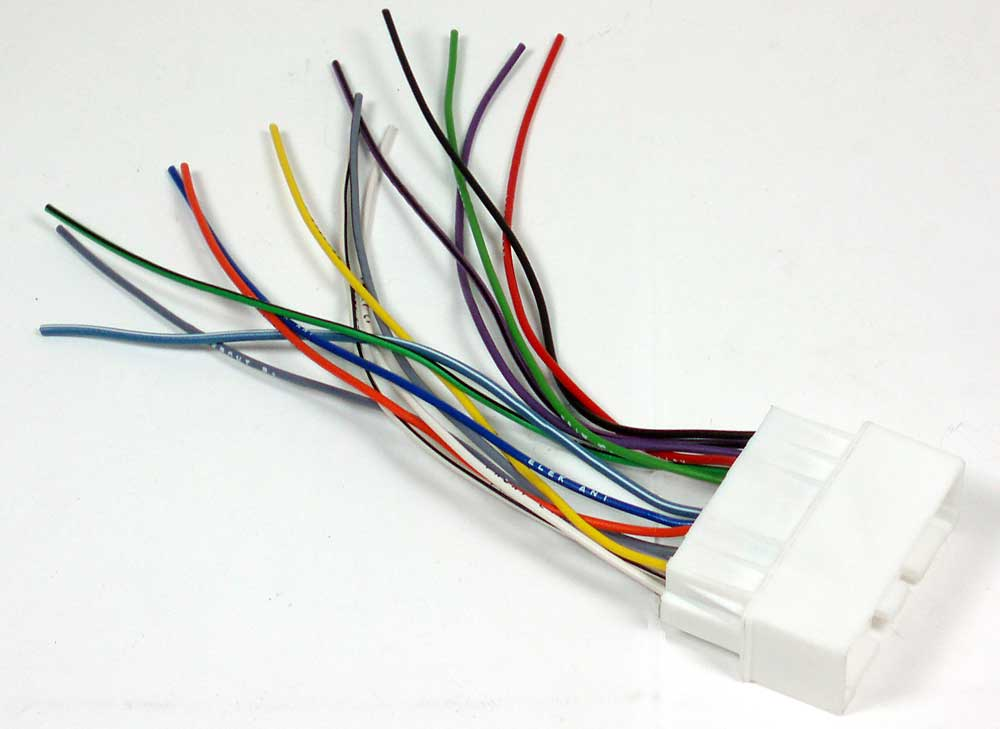 metra 70 7904 receiver wiring harness connect a new car stereo in select 2001 up mazda vehicles