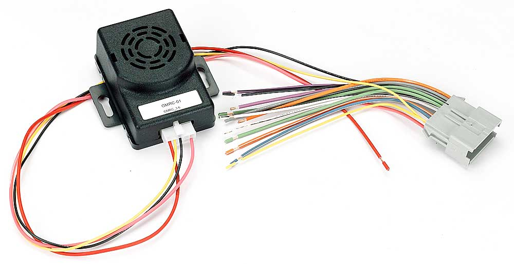x120GMRC01 f metra vt gmrc 01 wiring interface install a new car stereo and GM Wiring Color Codes at bayanpartner.co