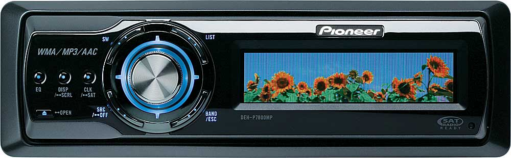 Pioneer DEH-P7800MP CD receiver with MP3/WMA/AAC playback at ...