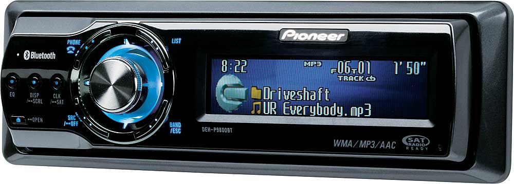 Pioneer DEH-P9800BT CD receiver at Crutchfield.com