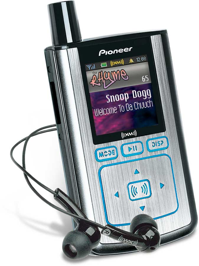 Discontinued by Manufacturer Pioneer Mobile GEX-INNO1 Pioneer Inno Portable XM2go Radio with MP3 Player