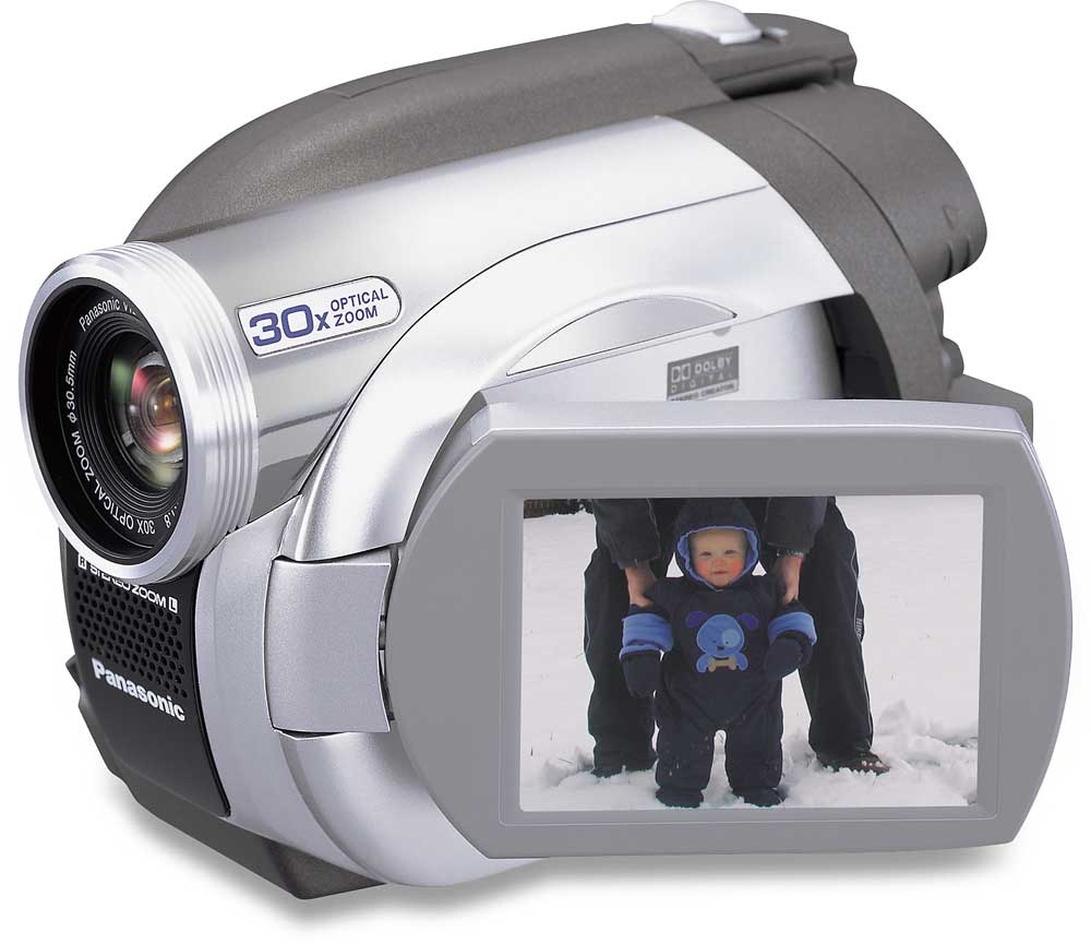 Panasonic VDR D100 DVD Camcorder