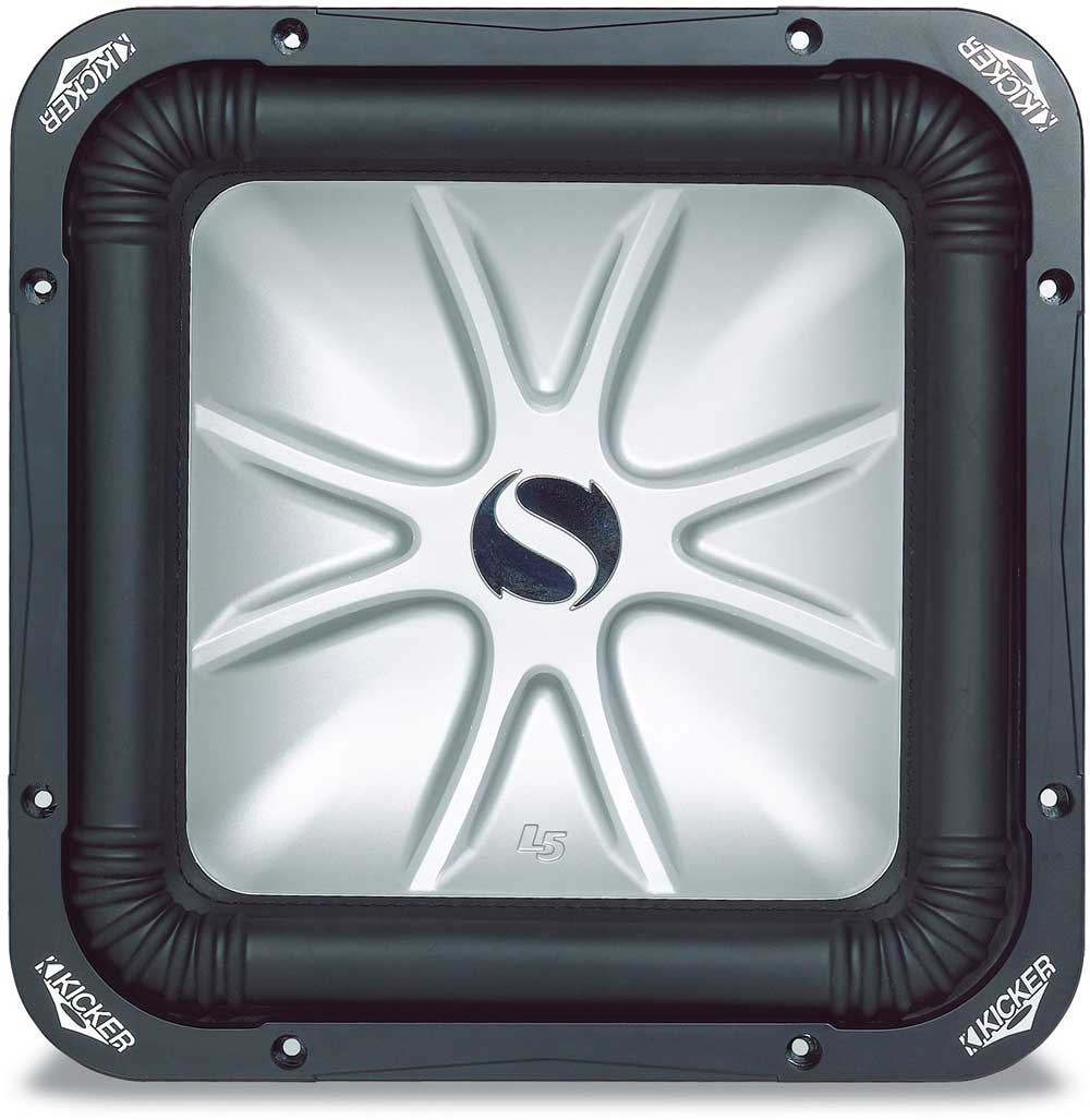 Kicker Solo Baric L5 06s15l54 15 Subwoofer With Dual 4 Ohm Voice 1 Inch Coils At