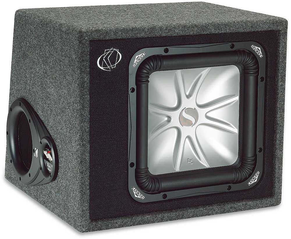 Kicker Vs12l52 Ported Enclosure With One 12 L5 Solo Baric Subwoofer Wiring Diagram Bark At