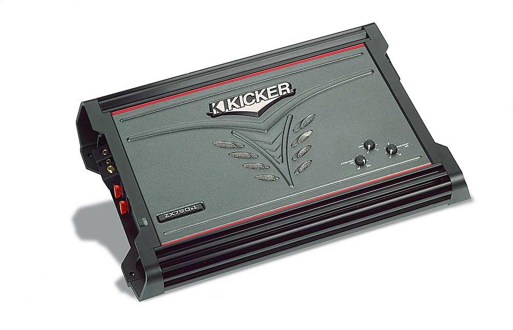 kicker zx750 1 mono subwoofer amplifier 750 watts rms x 1 at 2 kicker zx750 1 mono subwoofer amplifier 750 watts rms x 1 at 2 ohms at crutchfield com