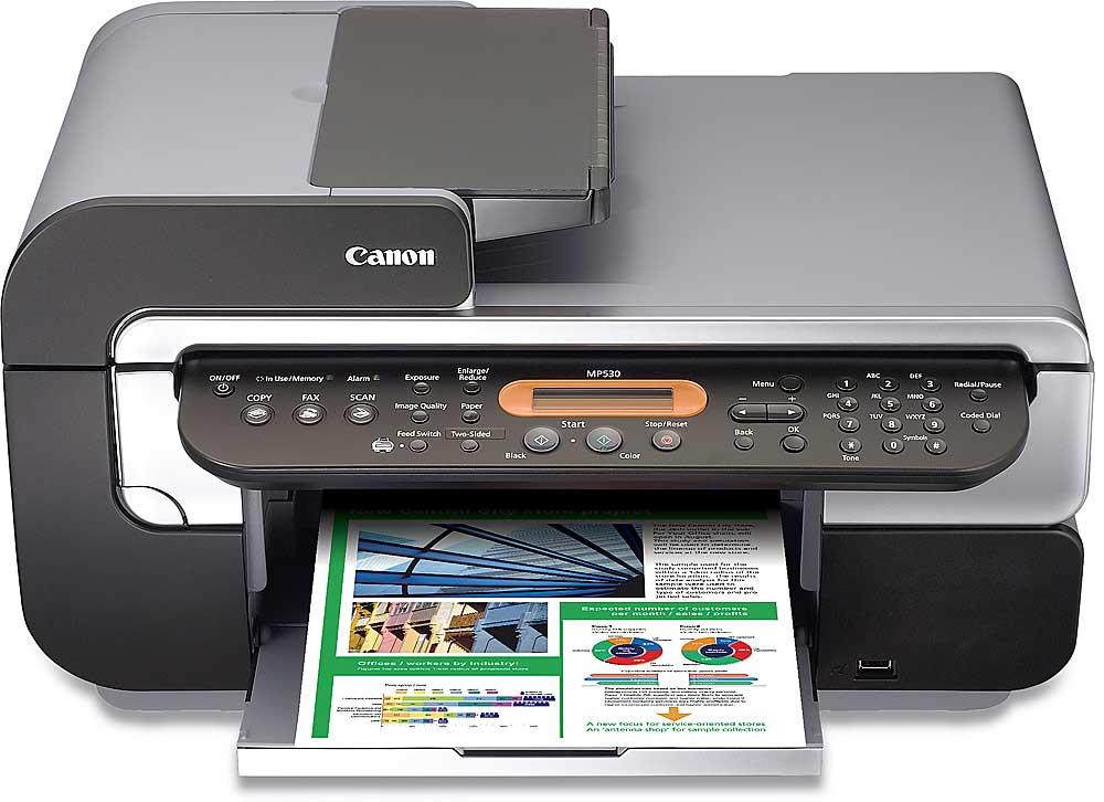 canon pixma mp530 multi function printer scanner copier fax machine rh crutchfield com Canon PIXMA MX432 Canon PIXMA MX922