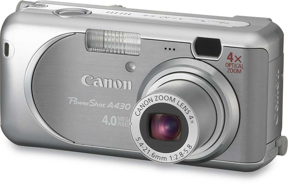canon powershot a430 4 megapixel digital camera at crutchfield com rh crutchfield com Canon PowerShot SX260 HS Canon PowerShot SX50
