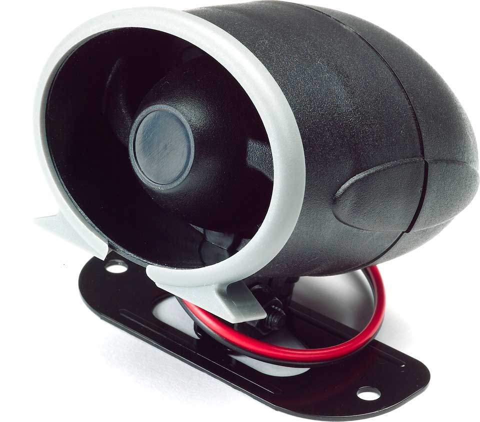 Crime Guard AU76MP Psycho Mini-Siren Replacement siren for CG745i3 and  CG745i4 car alarm systems at Crutchfield.com