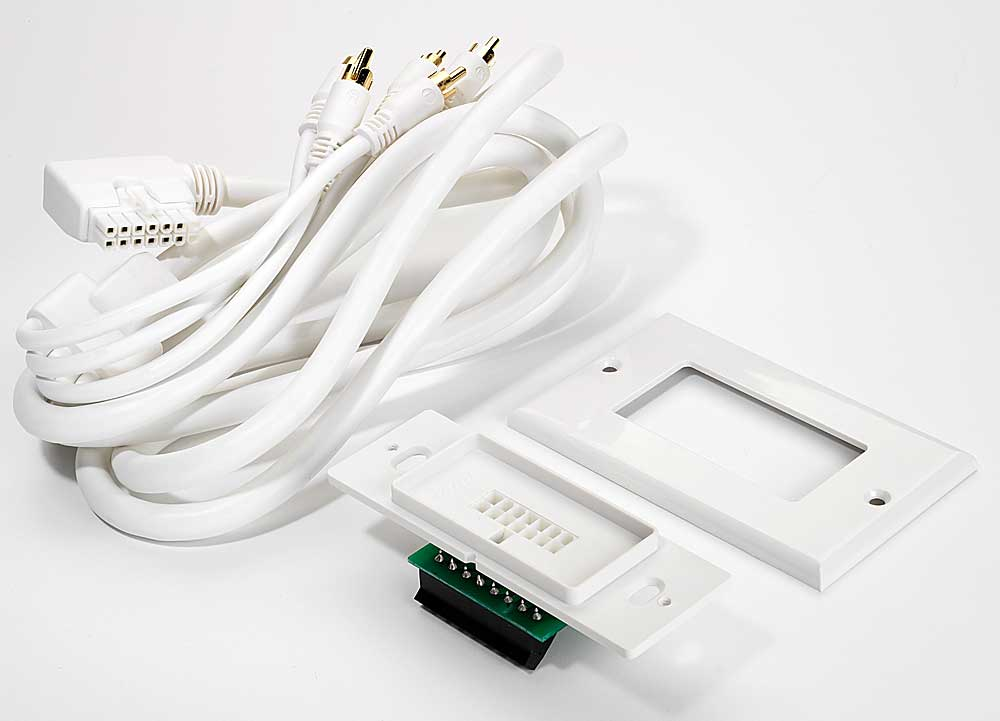 Bose in wall speaker wire adapter kit for lifestyle