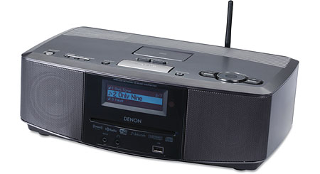 Denon S-52 Wi-Fi® tabletop radio with CD player and built-in iPod® dock