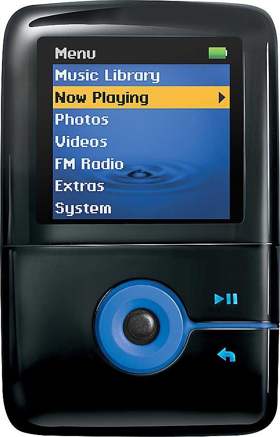 Creative Zen V Plus 4gb Blackblue Mp3photovideo Clip Player At