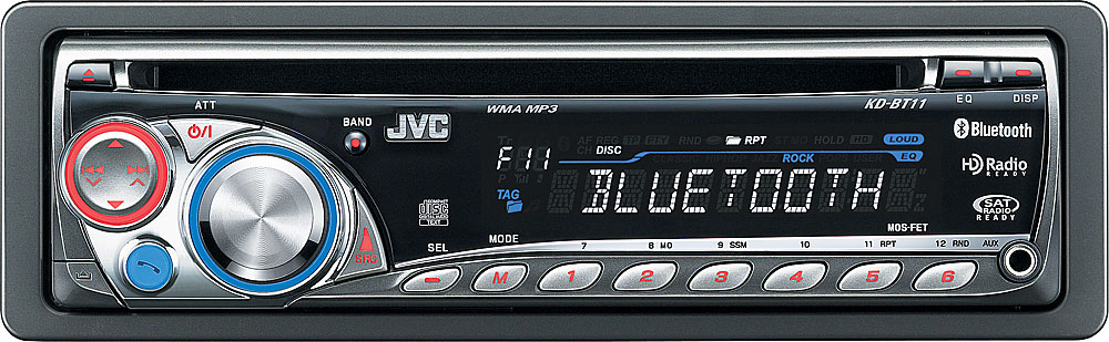 jvc kd bt11 cd receiver at crutchfield com rh crutchfield com JVC Car Radio Manual Xf76 JVC Manual