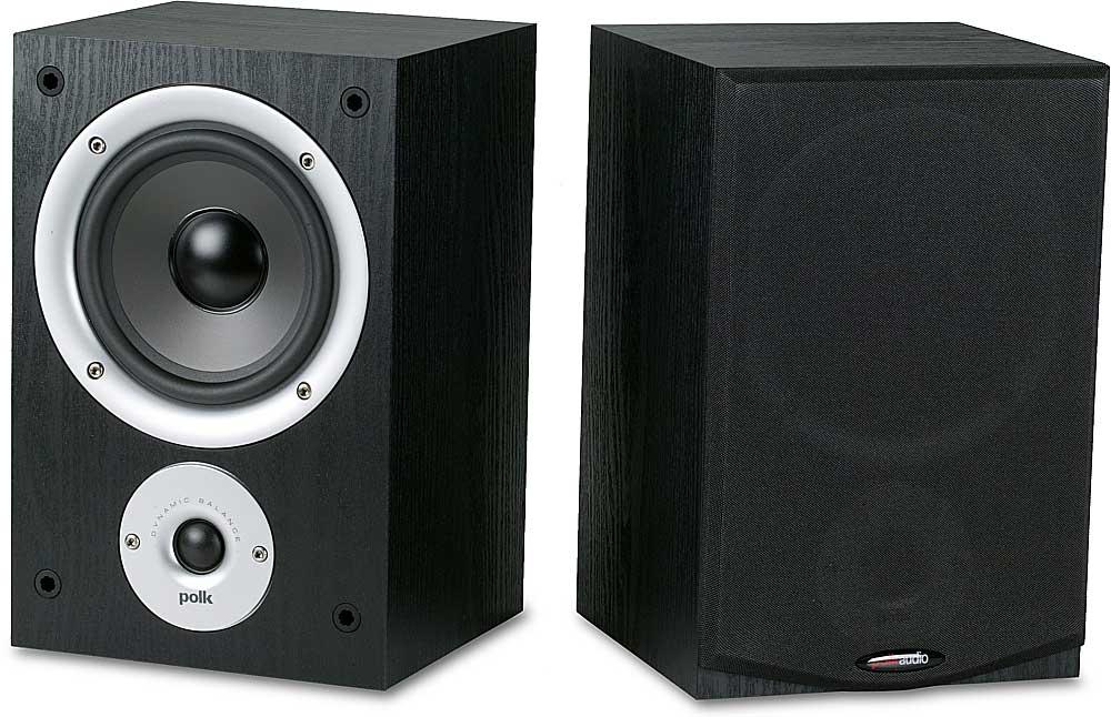 Polk Audio R150 Bookshelf Speakers At Crutchfield