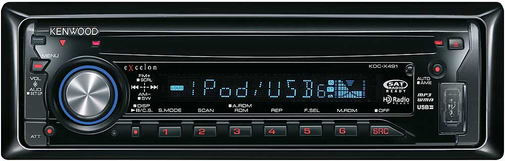 kenwood excelon kdc x491 cd receiver with mp3 wma aac playback rh crutchfield com kenwood kdc-x491 manual kdc x395 manual