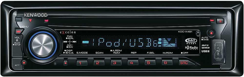 kenwood excelon kdc x491 cd receiver mp3 wma aac playback kenwood excelon kdc x491 cd receiver mp3 wma aac playback at crutchfield com