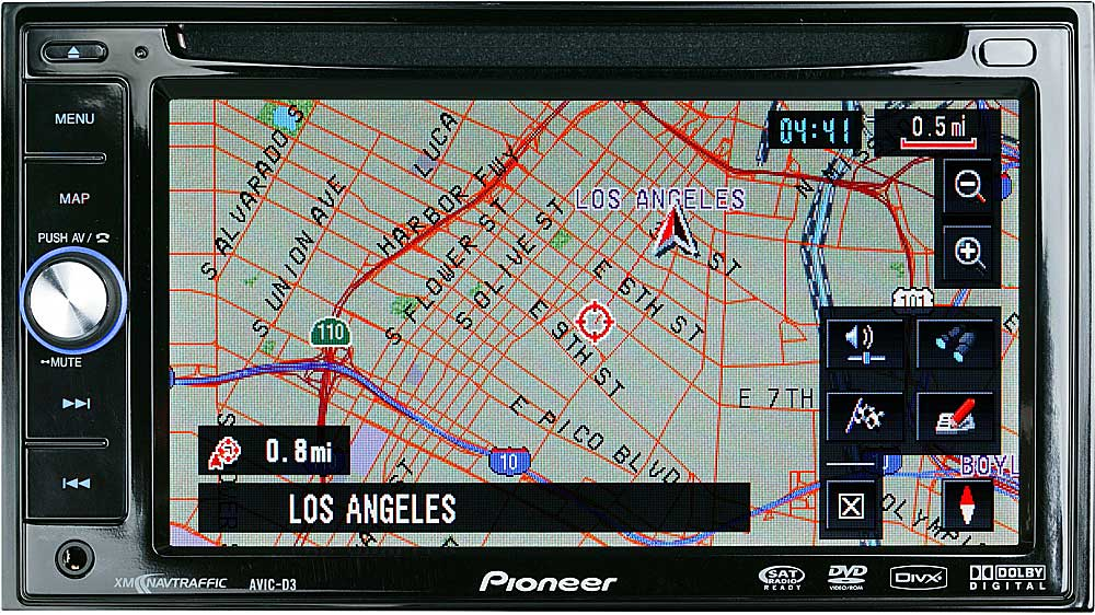 Pioneer Avic Navigation System
