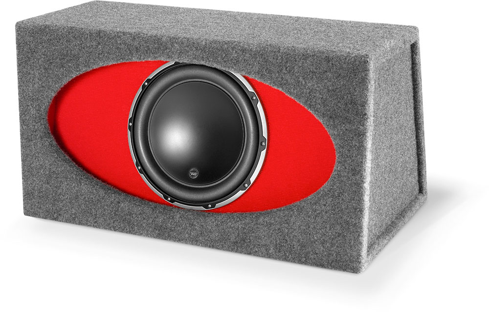 JL Audio HO112R-W6v2 Ported H.O. Wedge™ enclosure with one 12
