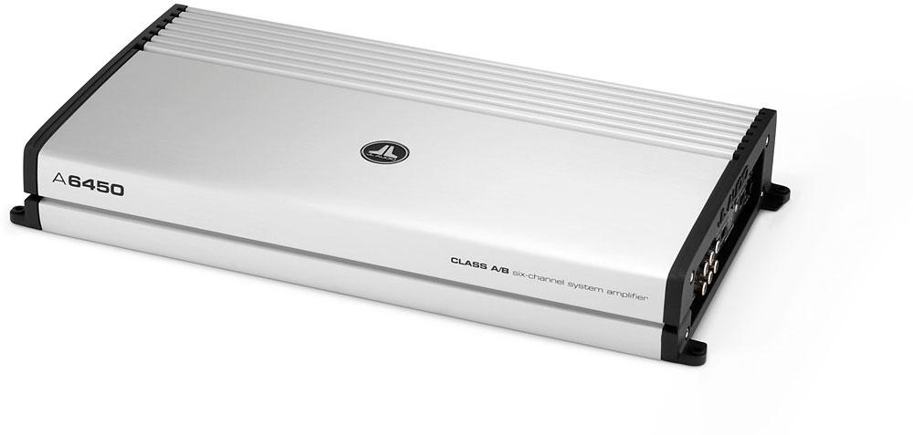 Jl audio a series a6450 6-channel car amplifier 70 watts rms x 6.