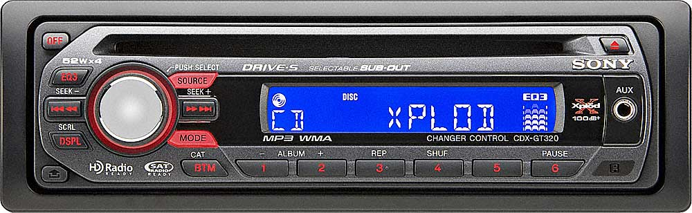 sony cdx gt320 cd receiver at crutchfield