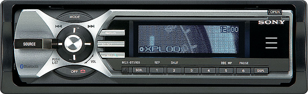 Sony mex bt5100 cd receiver at crutchfield publicscrutiny Image collections