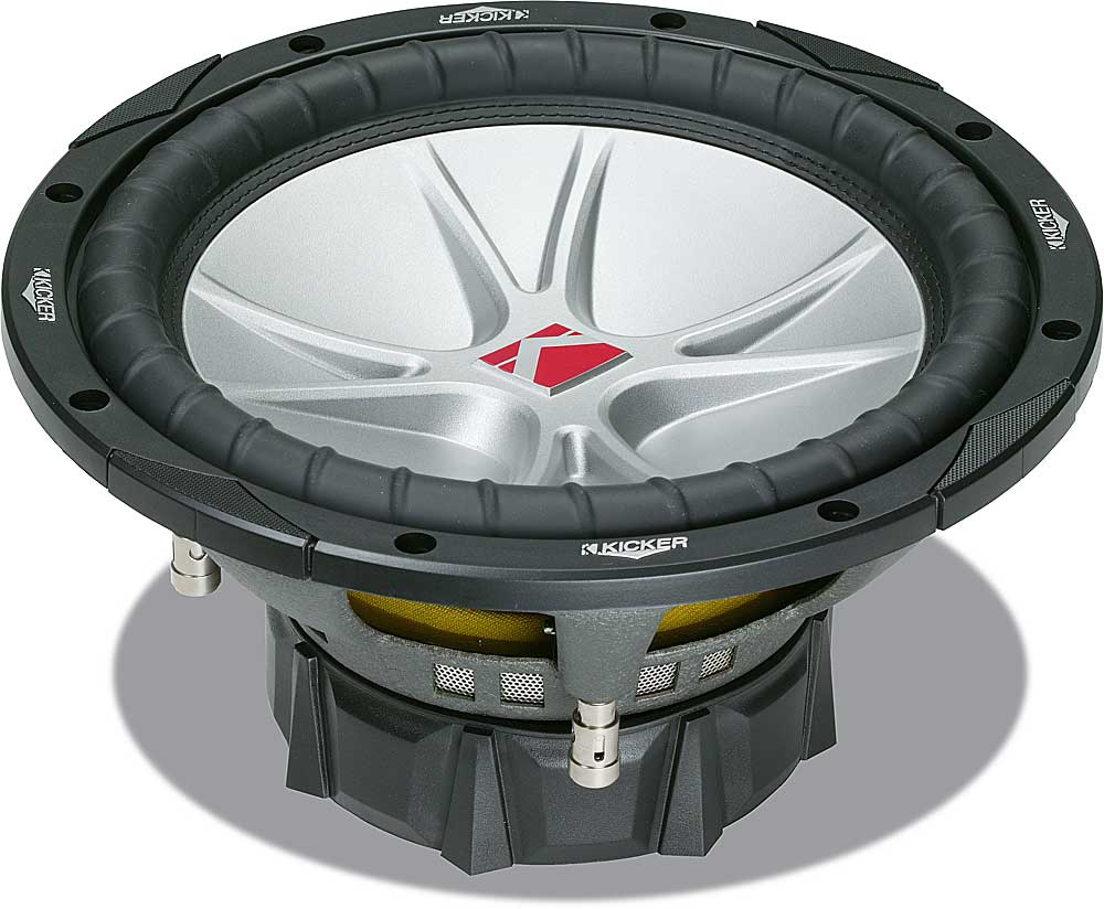 Kicker Compvr 07cvr104 10 Subwoofer With Dual 4 Ohm Voice Coils At Wiring 3 Subs Also 2 Sub To A