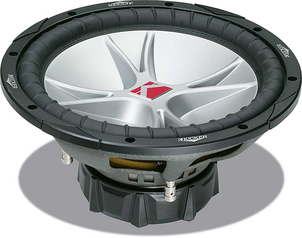 Kicker Compvr 07cvr122 12 Subwoofer With Dual 2 Ohm Voice Coils At 1 Wiring Diagram