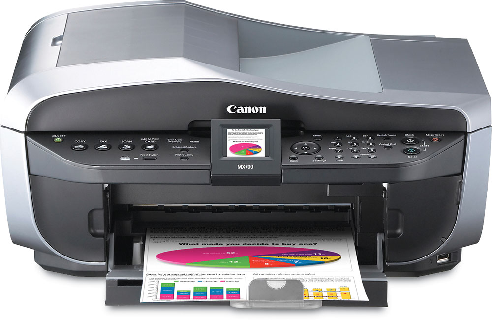Canon PIXMA MX700 Multi-function printer/scanner/copier/fax machine at  Crutchfield