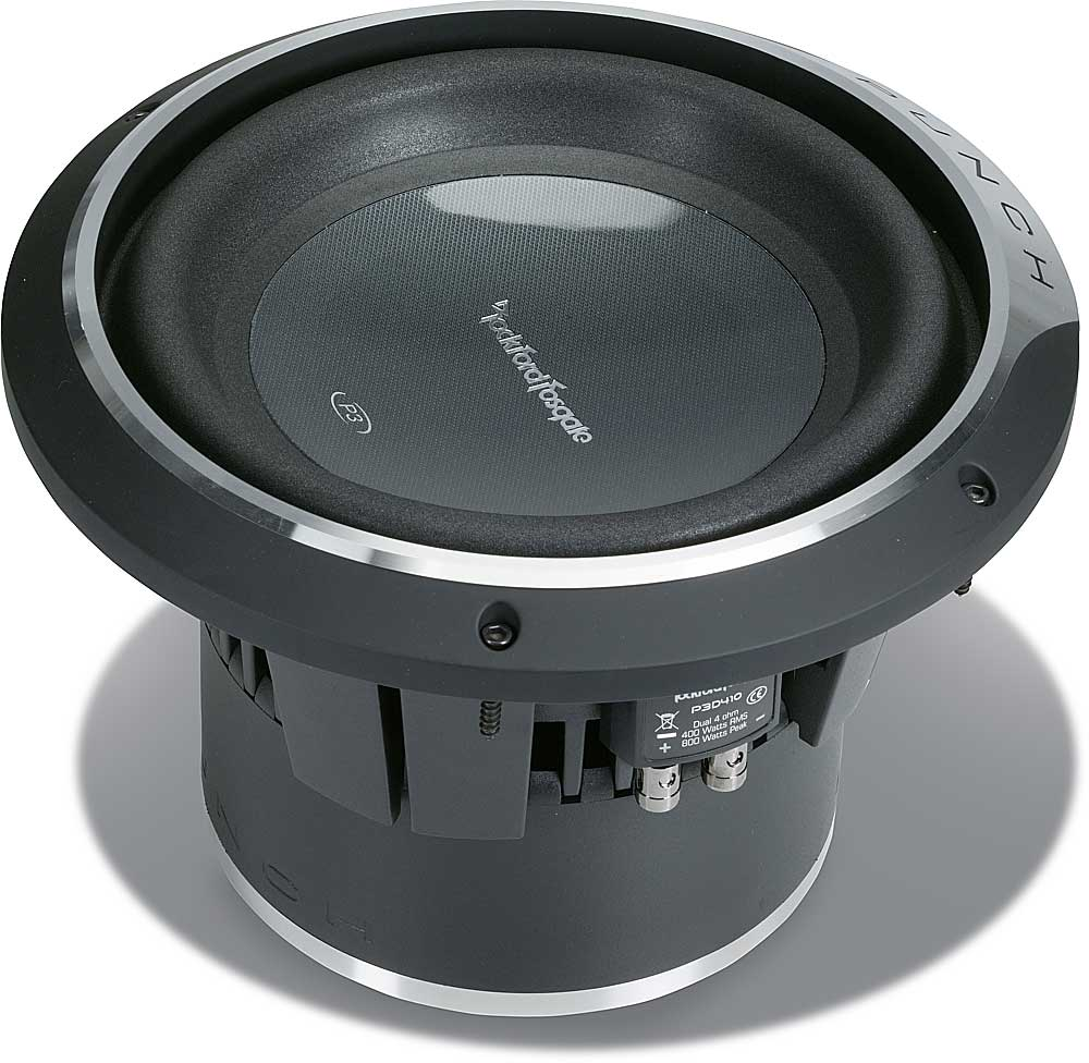 Rockford Fosgate P3 Wiring Library 8 Ohm To 4 Diagram P3d410 Punch Stage 3 10 Subwoofer With Dual Voice Coils