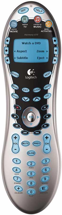 logitech harmony 670 universal learning remote with pc interface rh crutchfield com logitech harmony 670 remote manual logitech harmony 670 universal remote manual