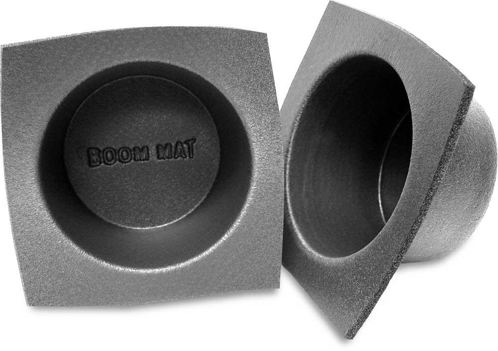 "Boom Mat 8-8/8"" Speaker Baffles (Regular: 8"" depth) Protect your speakers,  Regular and slim-line sizes at Crutchfield"