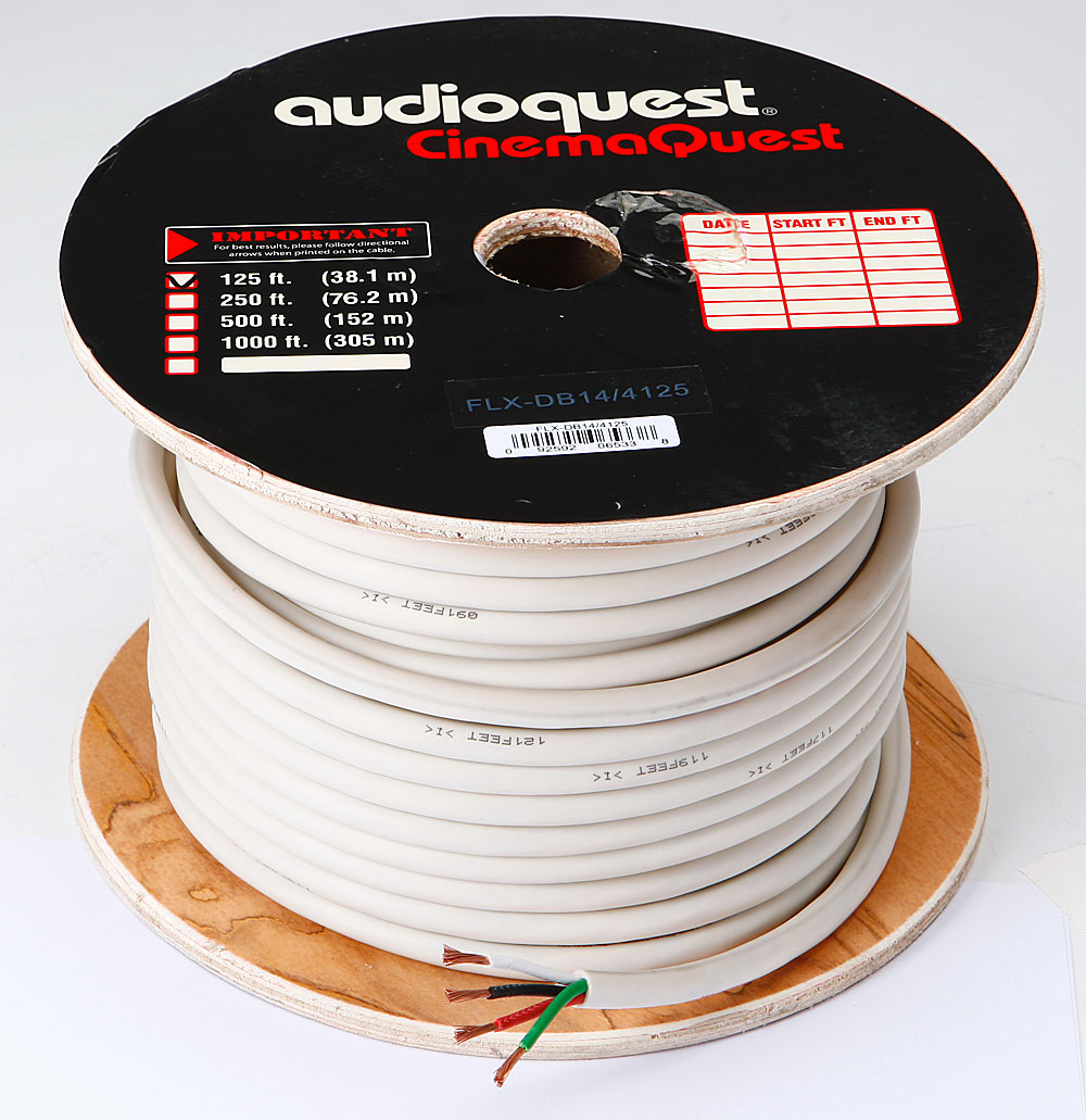 AudioQuest FLX/DB 14/4 In-wall Speaker Cable (125-ft. roll)