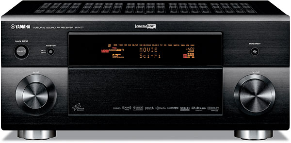 Yamaha RX-Z7 Home theater receiver with HDMI switching and video upconversion