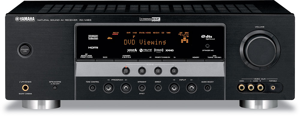 yamaha rx v463 home theater receiver with hdmi switching at rh crutchfield com yamaha receiver rx-v363 manual yamaha rx-v363 instructions