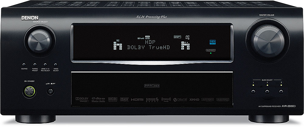 denon avr 2809ci home theater receiver with hdmi switching and video rh crutchfield com Denon Instruction Manual Denon Receivers Manuals