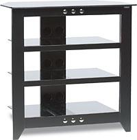 Sanus Model NFAV230 Four Shelf Audio/Video Stand  Black F...