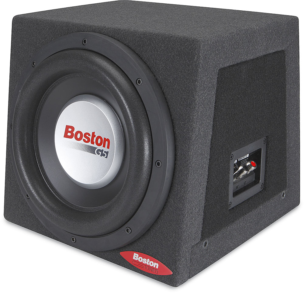 Boston Acoustics G510rs Gtuned Enclosure With 10 Quot G5