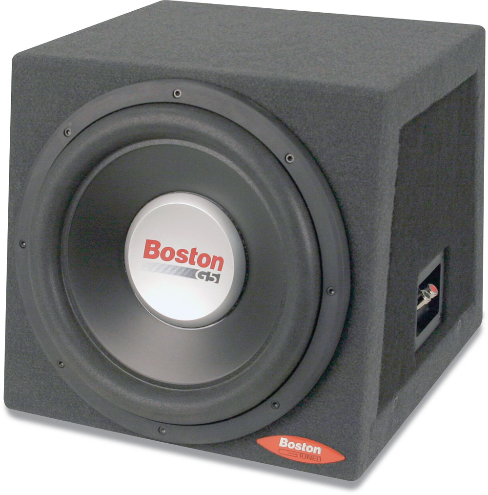 boston acoustics g512rs gtuned enclosure with 12 g5. Black Bedroom Furniture Sets. Home Design Ideas