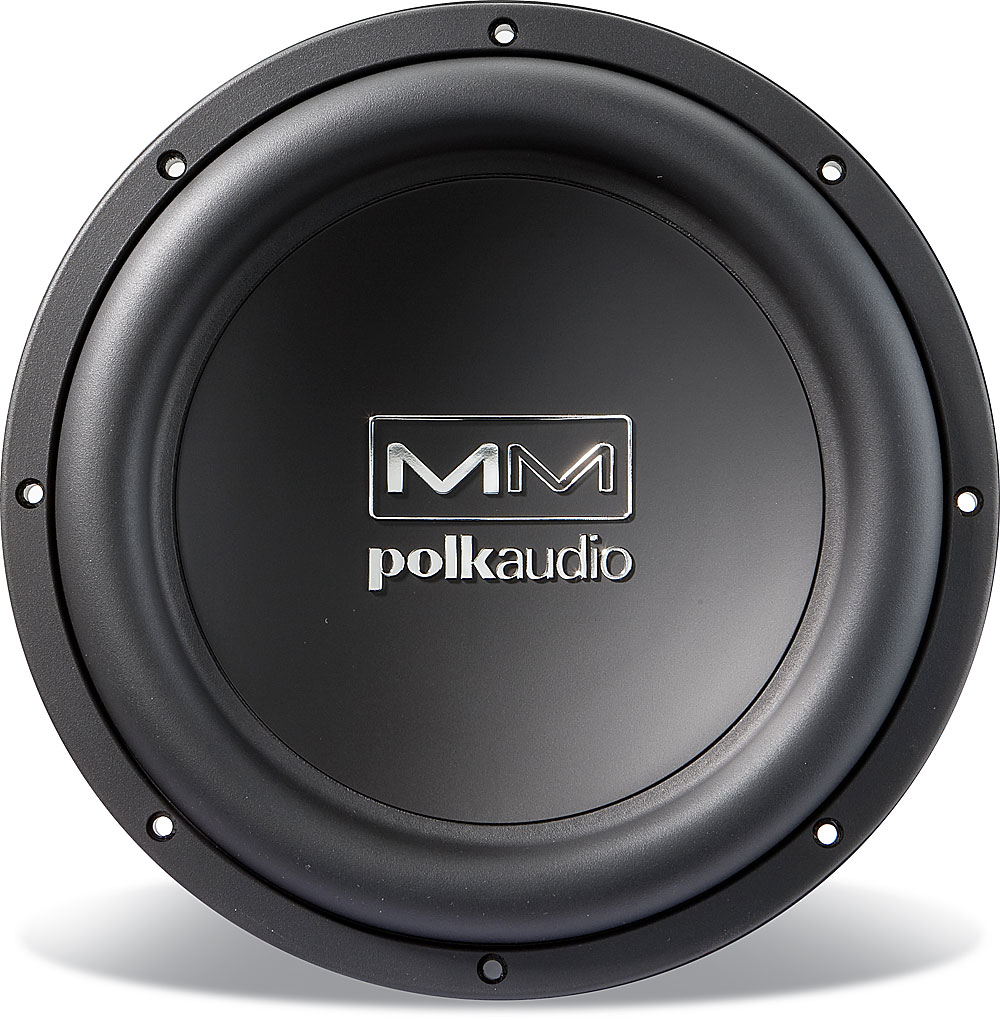 "12/"" Polk SVC SubWoofer BASS Speaker.4ohm.Car Audio Replacement.Marine. NEW 1"