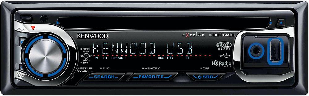 kenwood excelon kdc x493 cd receiver at crutchfield com
