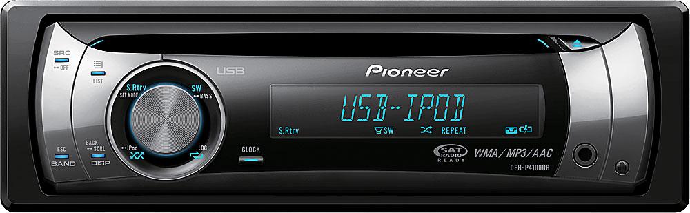 pioneer deh p4100ub cd receiver at crutchfield com rh crutchfield com pioneer deh-p4100ub manual pioneer deh-4100sd manual