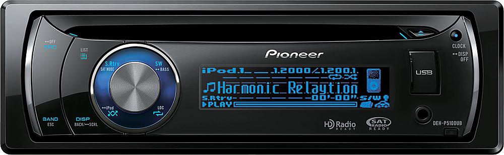Pioneer Deh P5100ub Cd Receiver At