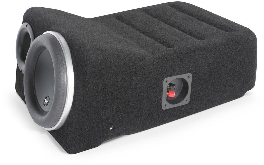 JL Audio Stealthbox® (Black) Custom-fit fiberglass